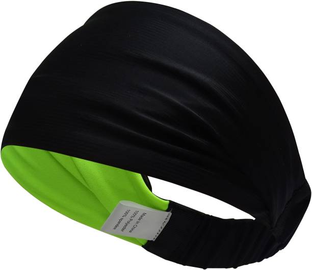 SKUDGEAR Multifunctional Double Sided Premium Grade Yoga Sports Athletic Running Headband for Men and Women Head Band