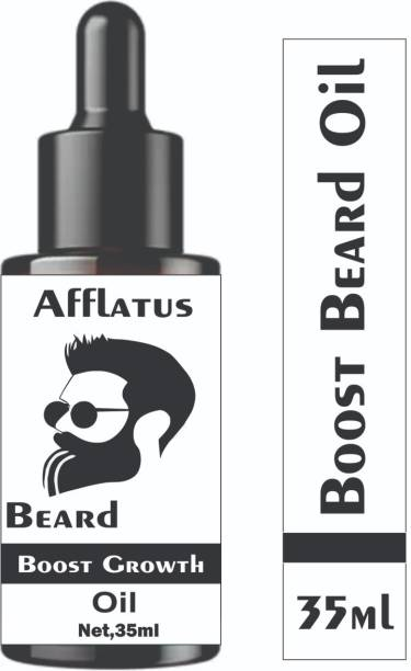Afflatus Beard Black Beast For Men Infused, 100% Fast Growth , Naturally Growth , Extra Growth Booster , New Improved Beard Oil ,Faster Then Other , Intense Growth Oil Hair Oil