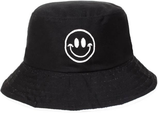 ZACHARIAS Fishermen Bucket Smiley Reversible Cap Hat