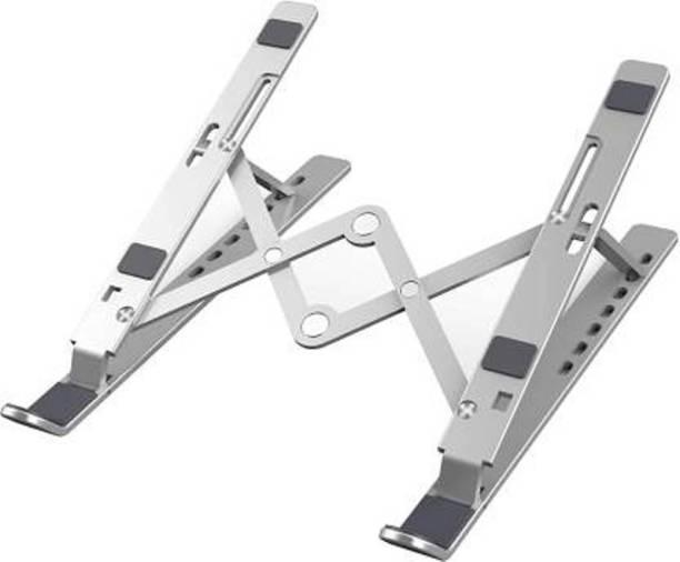 frixty FRX-002 Adjustable Laptop Stand Ergonomic Portable Tablet Stand Foldable Laptop Stand
