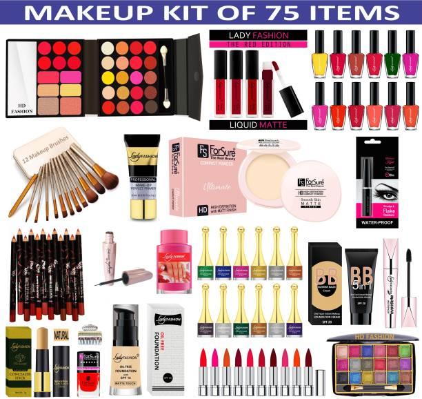 HD Fashion 75 in One Makeup Kit for New Gen Girls & Women