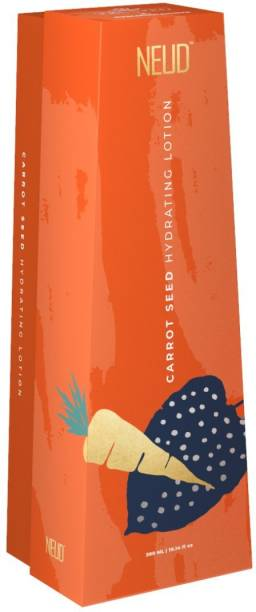 NEUD Carrot Seed Premium Hydrating Lotion for Men & Women - 1 Pack