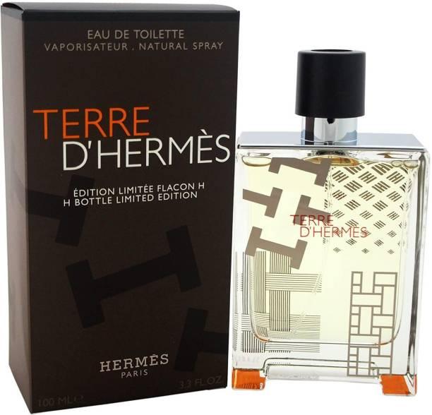 Hermes Terre H Bottle Limited Edition EDT Spray for Men, 3.3 Ounce Eau de Toilette  -  100 ml
