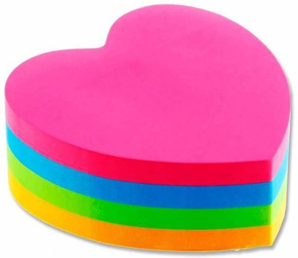 FRKB heart 300 Sheets regular, 4 Colors