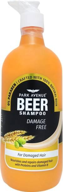 PARK AVENUE Beer Shampoo Damage Free