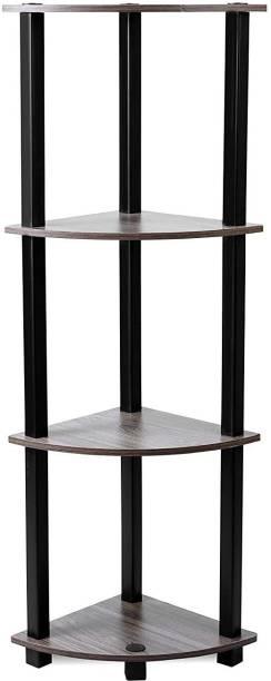 STOREDGE Solid Wood Corner Table