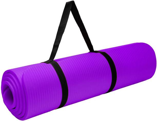 Unique Decor Mat for Women & Men EVA Eco Friendly Non Slip Classic Pro Mat for Home Workout Purple 6 mm Yoga Mat