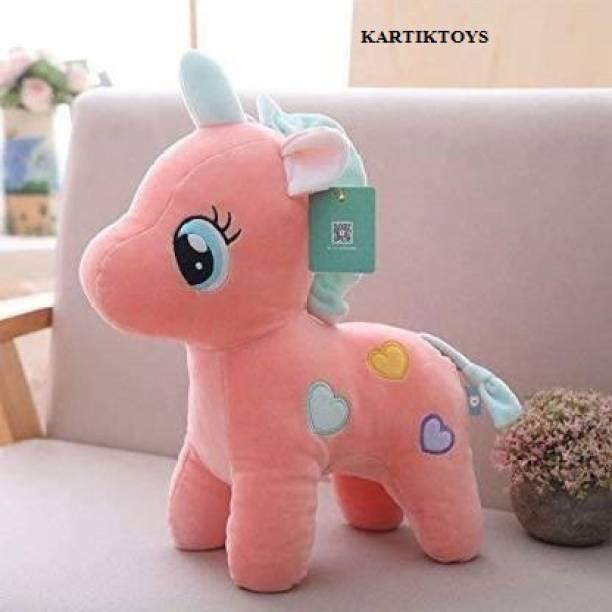 gaju Soft Plush Cute Unicorn Soft Stuffed for Kids Infants  - 20 cm