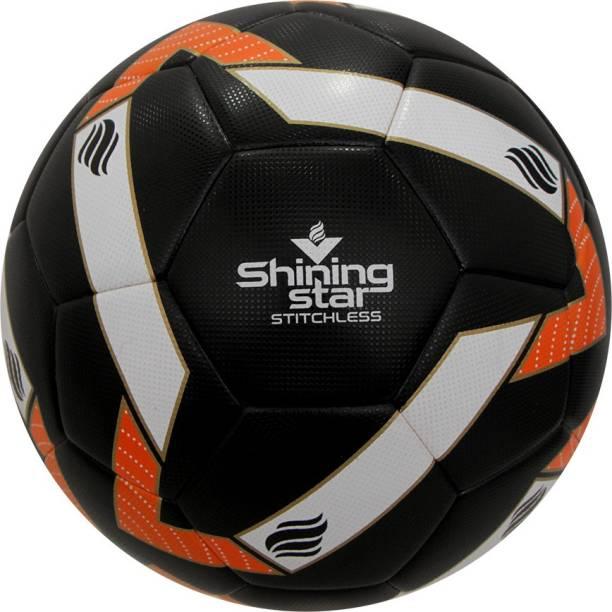 NIVIA Shining Star Stitchless Football - Size: 5