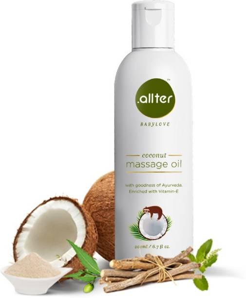 Allter Coconut Massage Oil for Baby