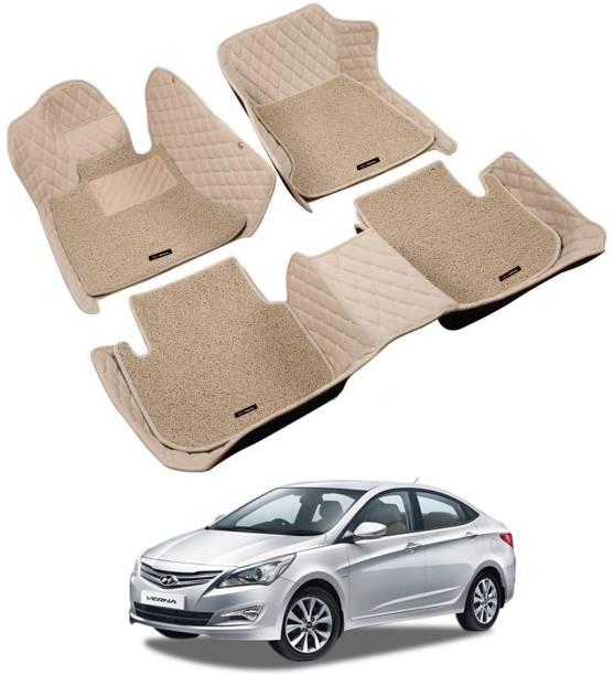 GoMechanic Leatherite 7D Mat For  Hyundai Verna