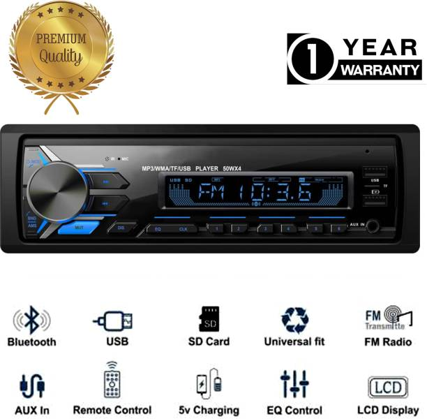 JBRIDERZ JB-2112DUALUSB Pro Boom Master BLUETOOTH/USB/SD/AUX/FM/MP3 with Phone caller ID Receiver Universal Car Stereo Car Stereo