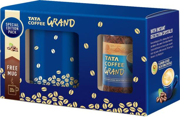 Tata Grand with Mug Instant Coffee