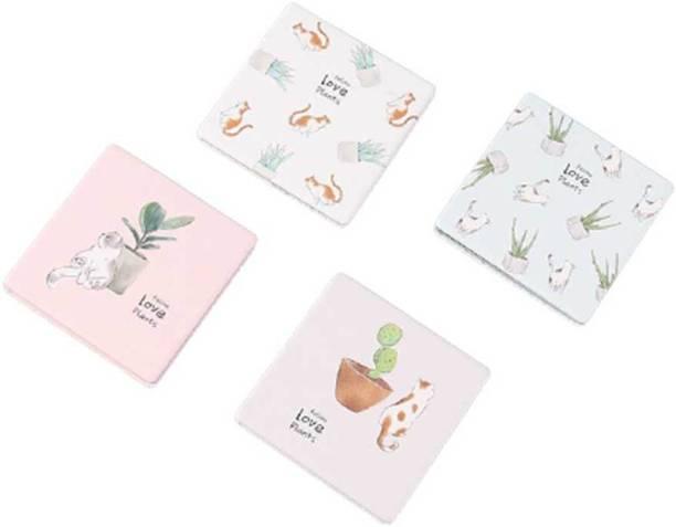 Ximi Vogue Adorable Cat Square Folding Pocket Mirror