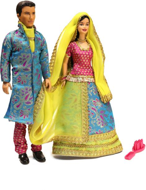 BARBIE and Ken in India (Color & Design may vary)