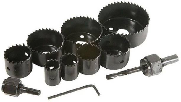 Qutbi tools 11 Pieces Wood Drill Bit Set 11 Pieces Wood Drill Bit Set