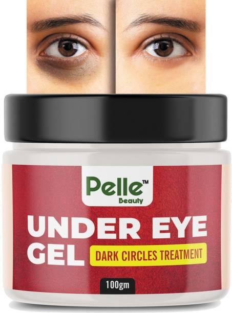 Pelle Beauty Under Eye Gel For Dark Circles Treatment_ For Men & Women _100gm