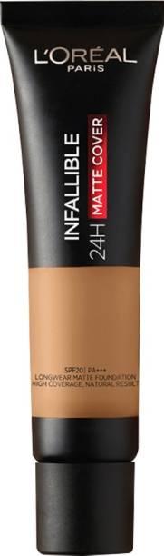 L'Oréal Paris Infallible 24H Matte Cover Liquid Foundation, 260 golden Sun, 35 ml Foundation