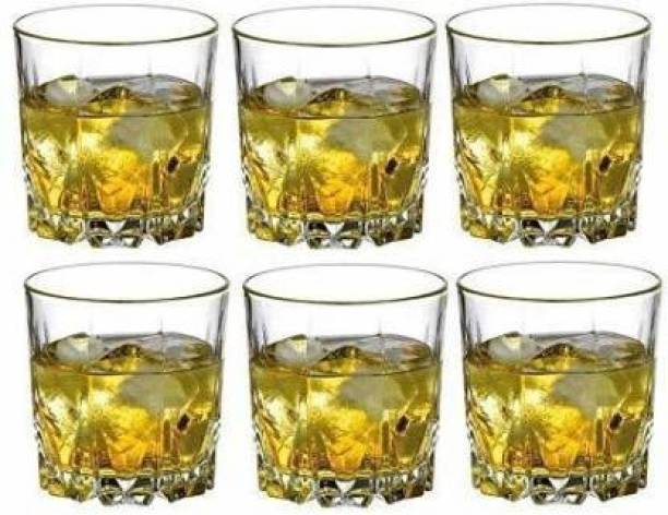 PLUS PRODUCTS (Pack of 6) GLASSSET6PACK_004479 Glass Set