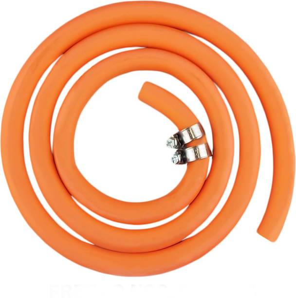 STILBON GAS PIPE 2.5M Reinforced LPG Gas Pipe 2.5 meter with 2 Clamps Hose Pipe