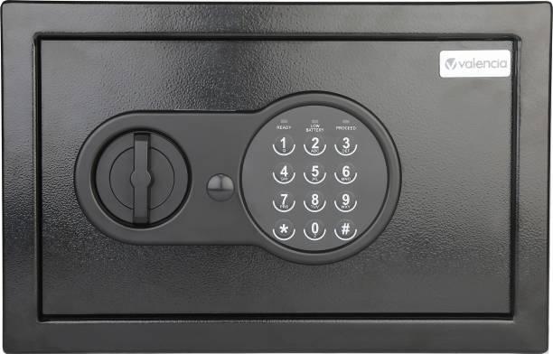 VALENCIA Crux Electronic Digital Security Safe for Home & Office, 9 Litres, Black Safe Locker