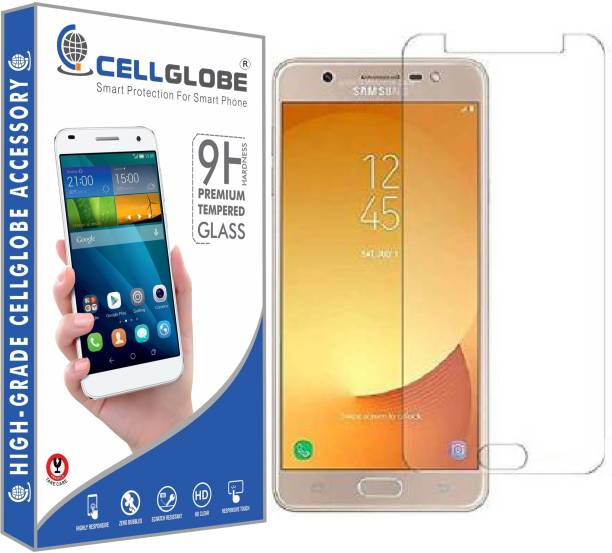 CELLGLOBE Edge To Edge Tempered Glass for Samsung Galaxy J7 Max