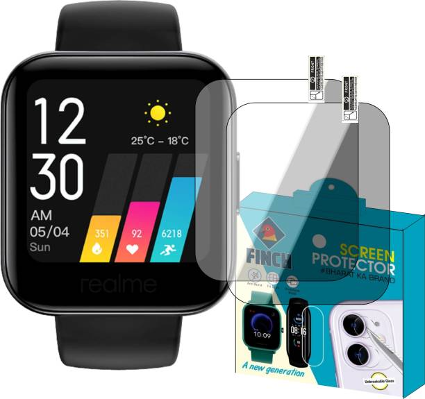 FINCH Edge To Edge Tempered Glass for Realme Fitness Watch