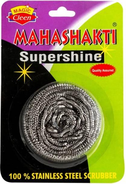 Magic Cleen Maha - (Pack of 6 Pcs) Stainless Steel Scrub