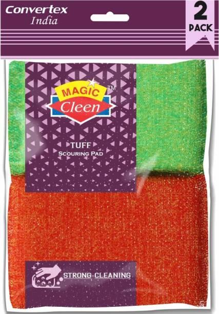 Magic Cleen Scrubber - (Pack of 4 Pcs) Scrub Pad