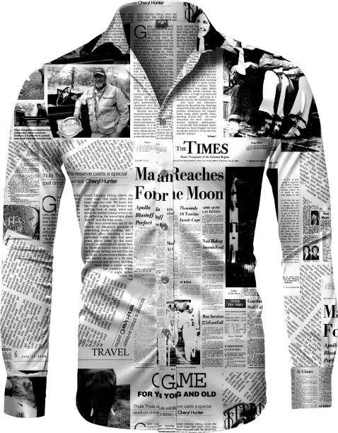 Enjoy fashion Cotton Polyester Blend Printed Shirt Fabric
