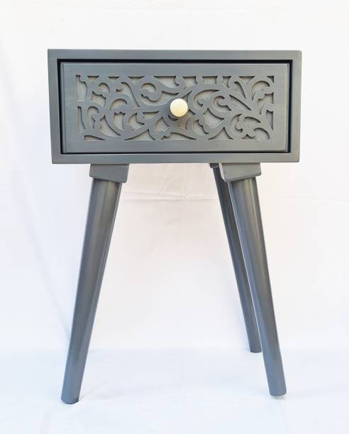Village craft online Solid Wood Side Table