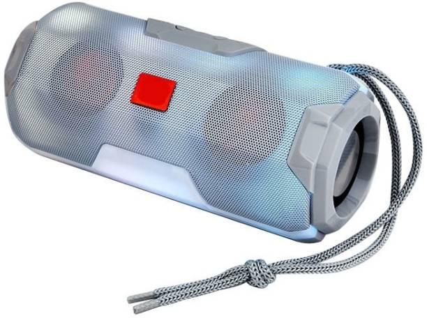 TECHOMANIA 100% God Quality Bluetooth B.O.S.E Speaker Mini Wireless Loudspeaker LED TF Card USB Subwoofer Portable MP3 Music Sound Column for PC Mobile Phone Support TF Card/USB Drive/AUX 10 W Bluetooth Speaker