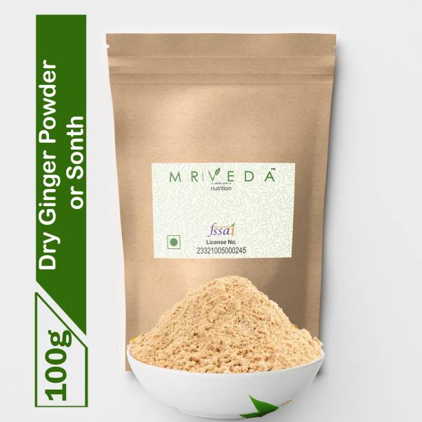 MR VEDA Dry-Ginger Powder Or Saunth May Help - Lowers cholesterol - Skin Toners - Improves Digestion - Headache - Chest pain - Common cold - Metabolism - Weight loss