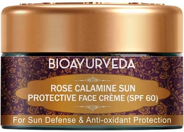BIOAYURVEDA Rose Calamine Sun Protective Face Cream (SPF 60) 20 g - SPF SPF 60