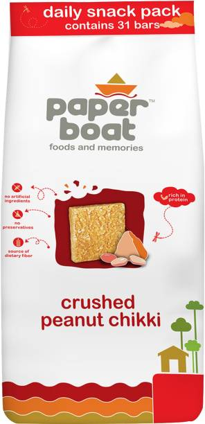 Paper boat Daily Snack Crushed Peanut Chikki Pouch