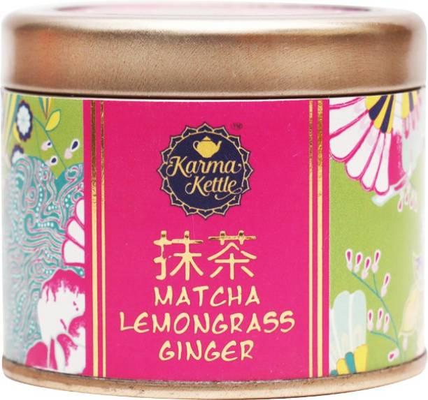 Karma Kettle MCLG-LL50 Lemon Grass, Ginger Matcha Tea Tin