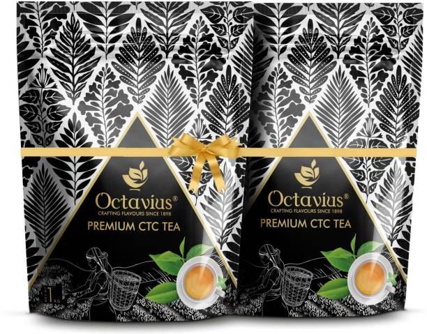 Octavius Premium Assam Kadak CTC Chai Tea Pouch