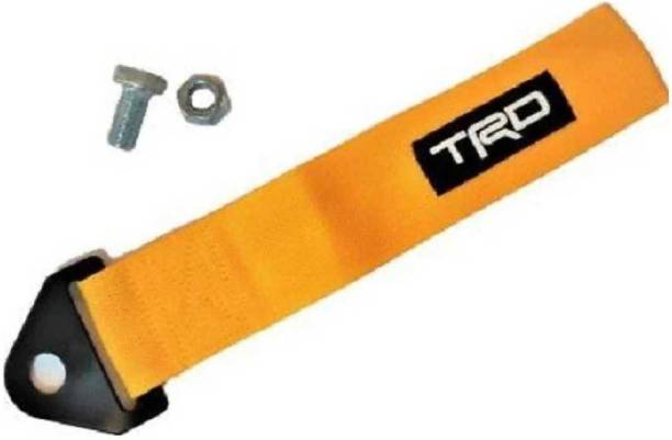 ElectriBles Yellow TRD TOW BELT & STRAP. Premium Universal Front & Rear Tow Strap/Tow Hook Ribbon 0.23 m Towing Cable 0.2 m Towing Cable 0.2 m Towing Cable 0.2 m Towing Cable 0.2 m Towing Cable