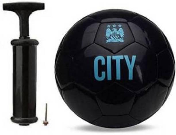 RASCO BLACK CITY WITH FOOTBALL PUMP Football - Size: 5