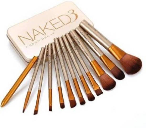 Ladista Urban Decay naked 3 makeup brush set of 12
