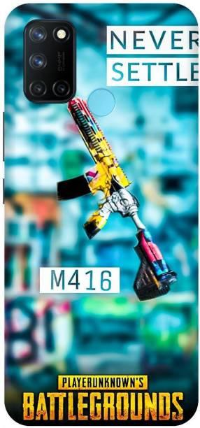SAVETREE Back Cover for Realme 7i, Realme C17, M416, Pubg, Back cover
