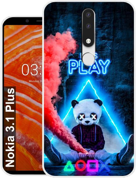 Morenzoprint Back Cover for Nokia 3.1 Plus