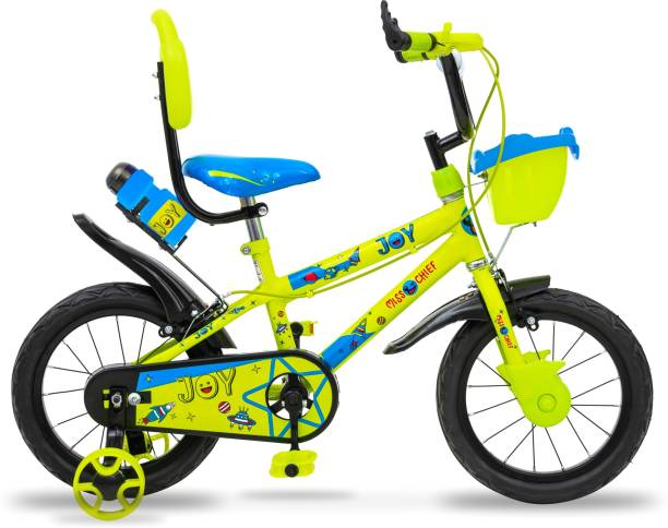 Miss & Chief Joy Durable Semi Assembled Kids Bicycle with Accessories and Steel Rim 14 T 14 T BMX Cycle