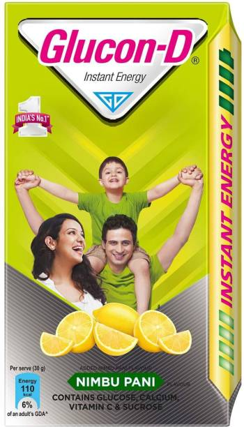GLUCON-D Instant Energy Nimbu Pani 1Kg (Pack of 1) Energy Drink