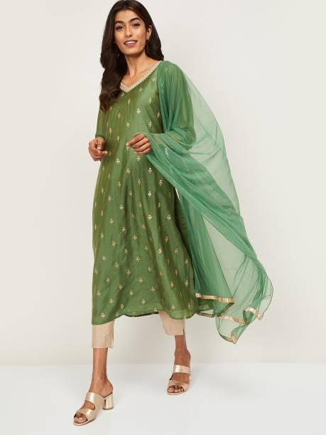 MeLANgE Women Kurta, Pyjama & Dupatta Set