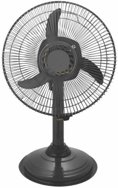 MG GOLD Pedestal Fan || 100 % Copper Motor || 1 Year Warranty || Sweep- 300 MM, 12 Inches || Metal Body || Color- Metallic Grey || Model-Metal Body ||Q44 300 mm Ultra High Speed 3 Blade Pedestal Fan