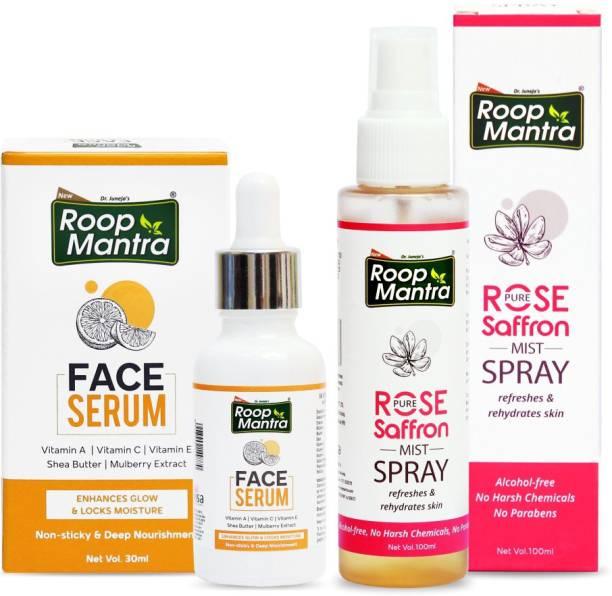 Roop Mantra Face Serum 30ml+Rose Mist Spray 100ml