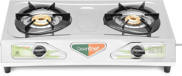 Greenchef Chandani Stainless Steel Manual Gas Stove