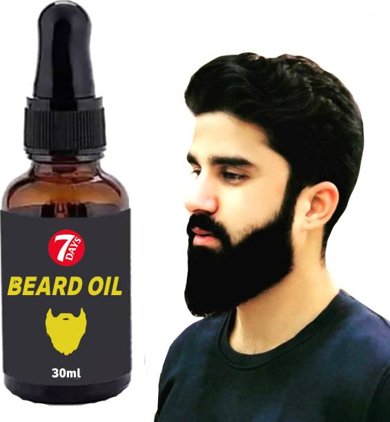 7 Days 100% Result Beard Growth Oil Enriched with Onion & Sandalwood oil For Faster Beard Growth Hair Oil
