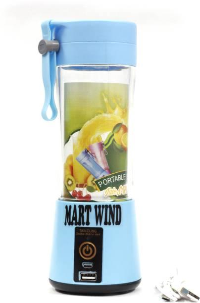 Mart Wind mw_handjuicer_001 50 Juicer (1 Jar, Blue)